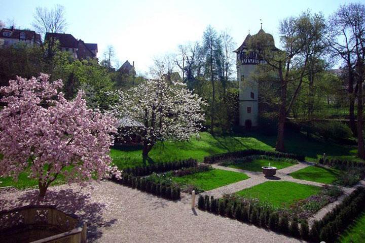 Ephoratsgarten von Kloster Maulbronn; Foto: Evangelisches Seminar Maulbronn