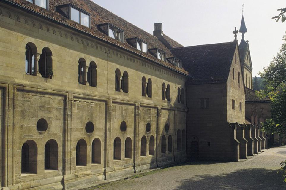 Exterior of lay wing at Maulbronn Monastery. Image: Staatliche Schlösser und Gärten Baden-Württemberg, Steffen Hauswirth