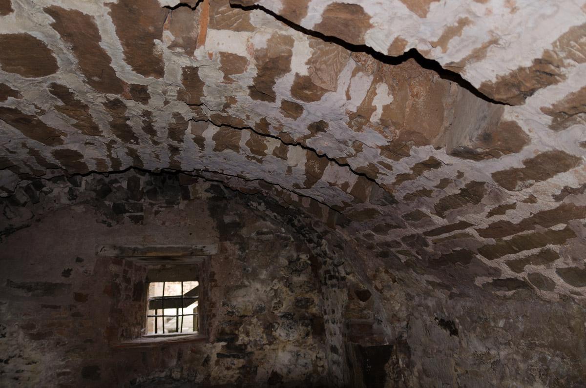 Deckengewölbe im Kalefaktorium in Kloster Maulbronn; Foto: Staatliche Schlösser und Gärten Baden-Württemberg, Julia Haseloff