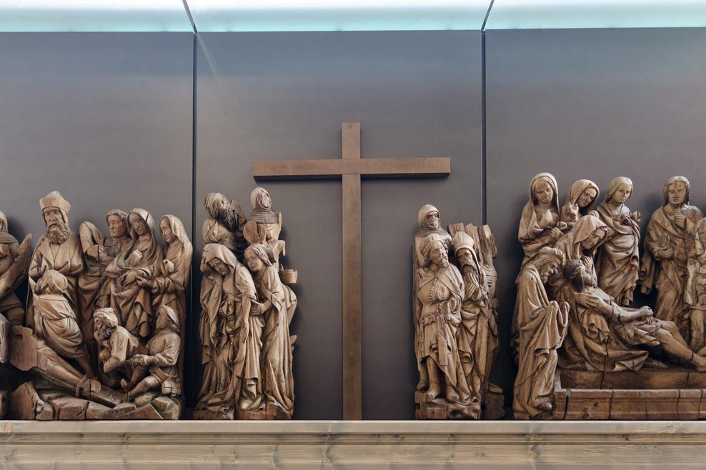 Relief on the high altar at Maulbronn Monastery. Image: Staatliche Schlösser und Gärten Baden-Württemberg, Julia Haseloff