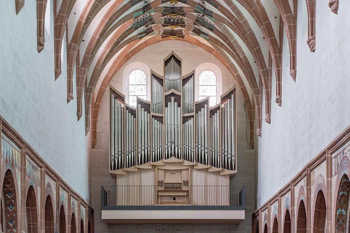 The Grenzing organ. Image: Staatliche Schlösser und Gärten Baden-Württemberg, Dirk Altenkirch