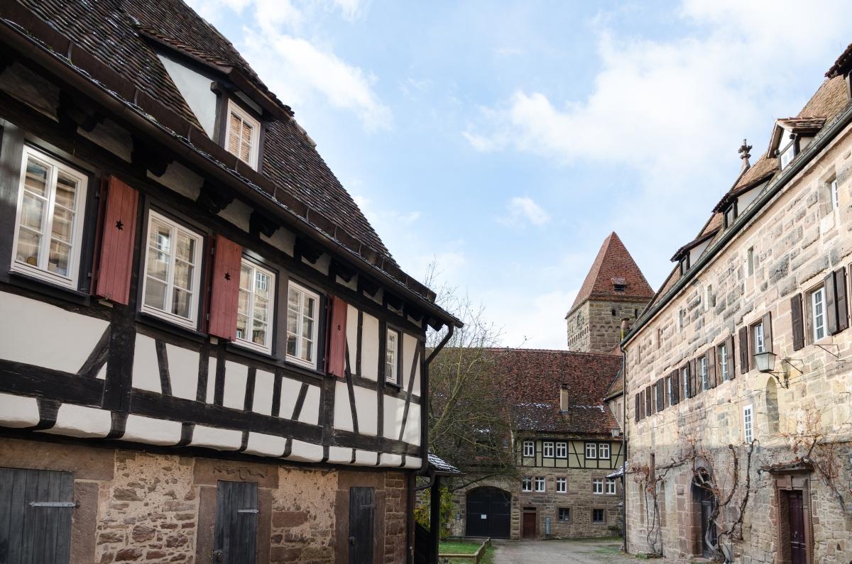 Maulbronn Monastery, baker's house. Image: Staatliche Schlösser und Gärten Baden-Württemberg, Julia Haseloff