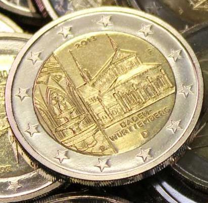 Die 2 Euro Münze