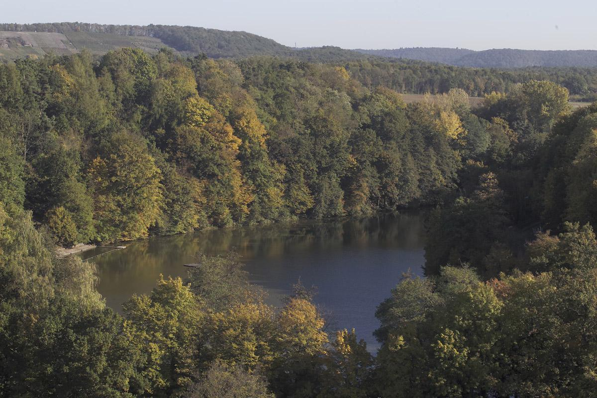 Tiefer See bei Kloster Maulbronn; Foto: Staatliche Schlösser und Gärten Baden-Württemberg, Arnim Weischer