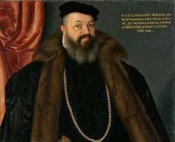 Portrait of Duke Christoph von Württemberg