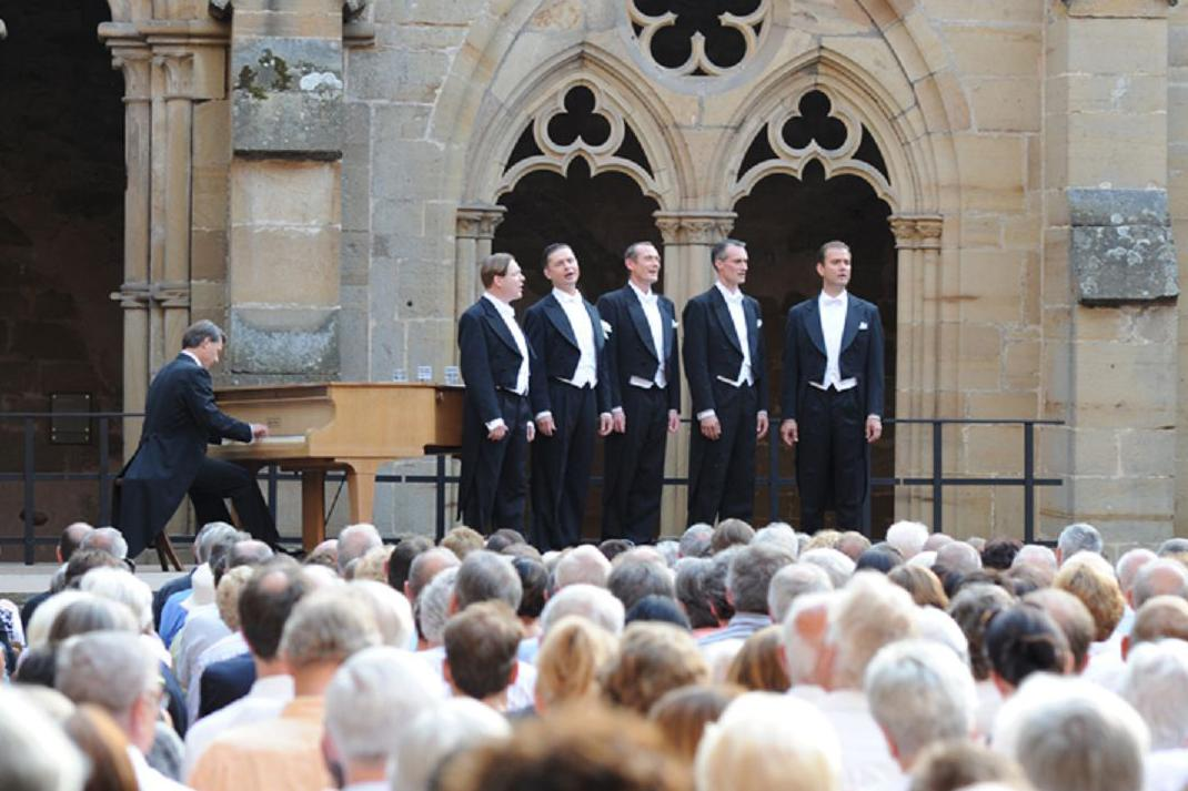 Concert at Maulbronn Monastery; photo: Uta Süsse-Krause