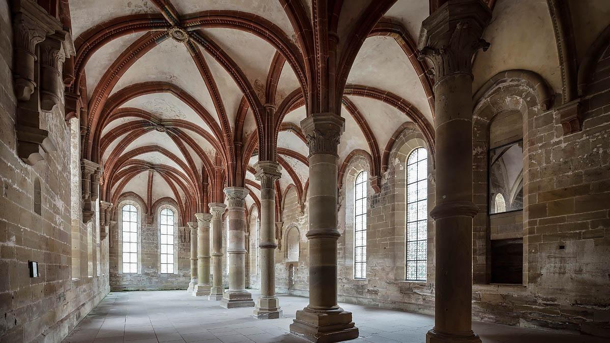 Herrenrefektorium; Foto: Staatliche Schlösser und Gärten Baden-Württemberg, Günther Bayerl