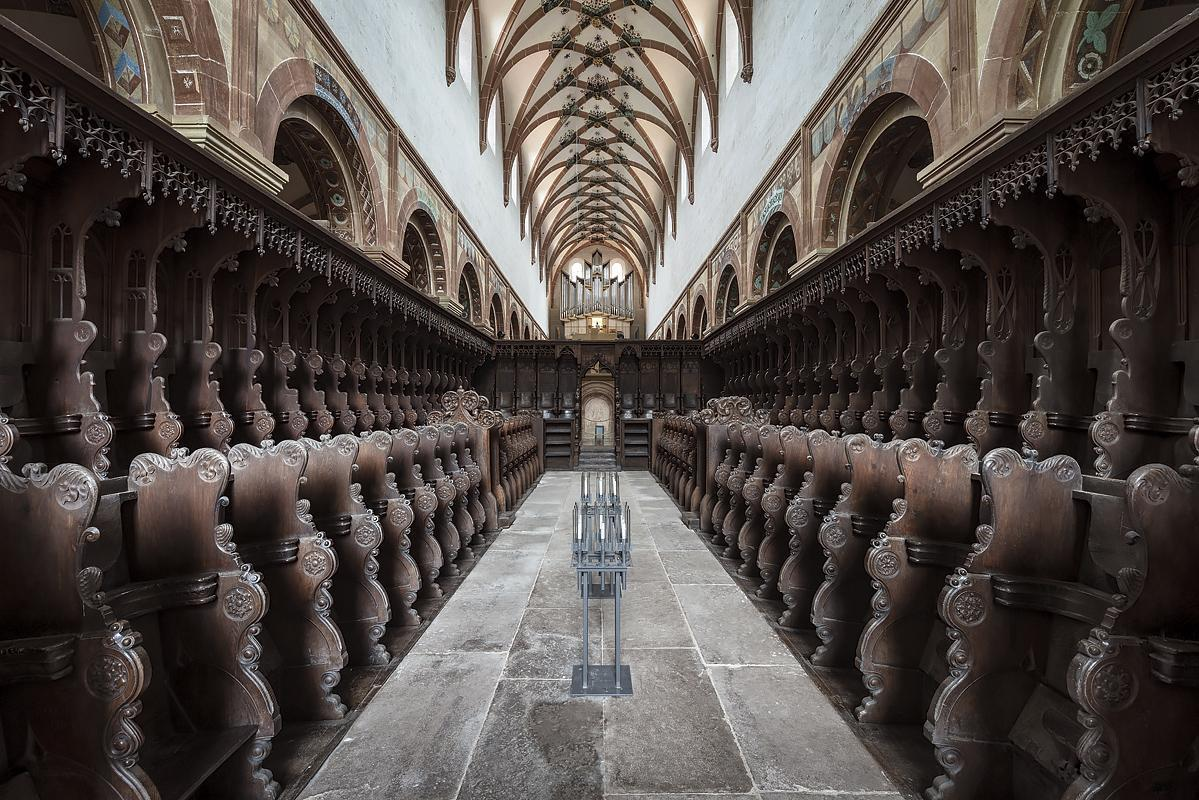 Choir stalls in the church at Maulbronn Monastery. Image: Staatliche Schlösser und Gärten Baden-Württemberg, Günther Bayerl