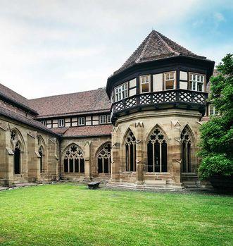 Das Brunnenhaus im Kreuzgarten; Foto: Staatliche Schlösser und Gärten Baden-Württemberg, Günther Bayerl
