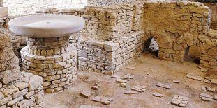 Vestiges des bains romains à Hüfingen, vue intérieure