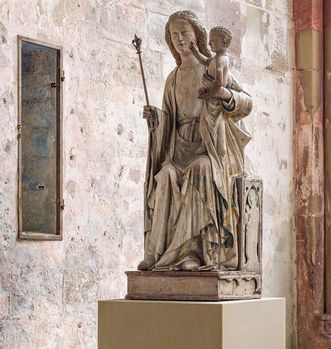 Full view of the Madonna. Image: Staatsanzeiger für Baden-Württemberg, Dirk Altenkirch