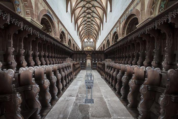 Chorgestühl in der Kirche des Klosters Maulbronn