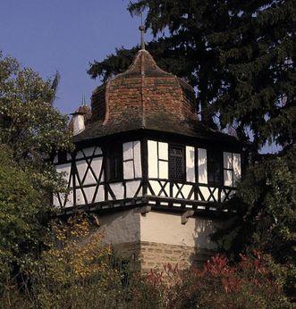 Außenansicht des Faustturms von Kloster Maulbronn; Foto: Staatsanzeiger für Baden-Württemberg, Eberhard Späth