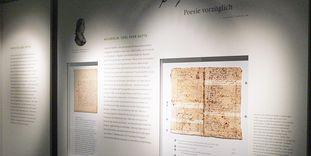 """Literaturmuseum """"Besuchen. Bilden. Schreiben. Das Kloster Maulbronn und die Literatur"""" in Kloster Maulbronn"""