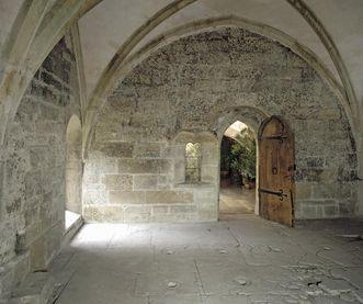 Das Obergeschoss des Heizraumes des Klosters Maulbronn
