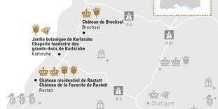 """Carte de région """"Forêt-Noire"""""""
