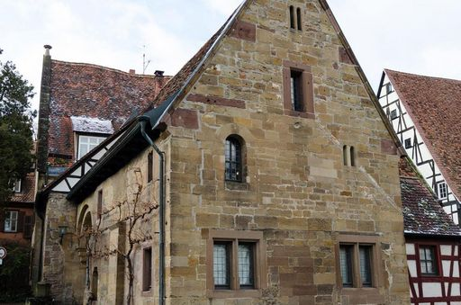 Kloster Maulbronn, das Frühmesserhaus; Foto: Staatliche Schlösser und Gärten Baden-Württemberg, Julia Haseloff.