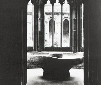 Maulbronn Monastery, Fountain House, 1865 photography by J.A. Lorent; photo: Stadtarchiv Maulbronn