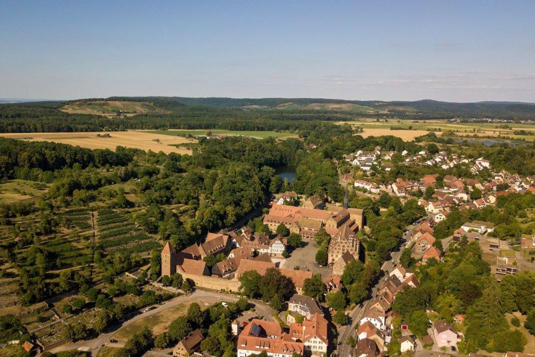 Kloster Maulbronn, Luftaufnahme