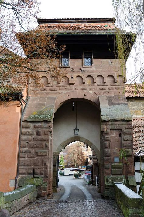 Maulbronn Monastery, view of the gate tower