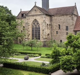 Ephoratsgarten von Kloster Maulbronn; Foto: Staatliche Schlösser und Gärten Baden-Württemberg, Günther Bayerl