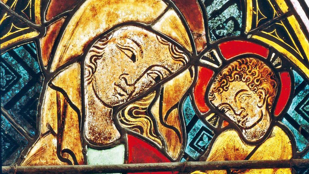 Kloster Heiligkreuztal, Ostfenster der Kirche