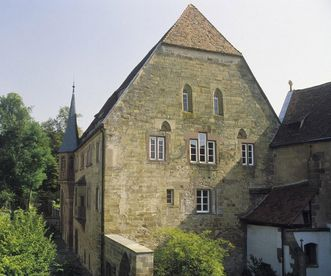 Außenansicht des ehemaligen Herrenhauses, Kloster Maulbronn; Foto: Staatliche Schlösser und Gärten Baden-Württemberg, Steffen Hauswirth