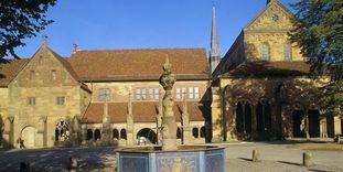 Maulbronn Monastery, monastery courtyard
