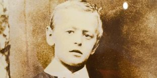 Hermann Hesse in his youth