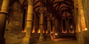 Kloster Maulbronn, Herrenrefektorium im Kerzenschein