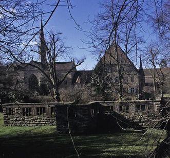 Ruins of the former presbytery at Maulbronn Monastery. Image: Staatliche Schlösser und Gärten Baden-Württemberg, Arnim Weischer