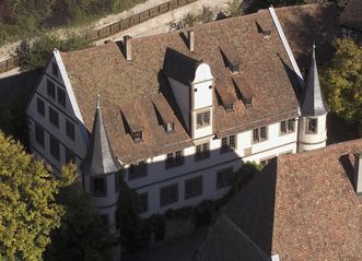 Außenansicht des ehemaligen Jagdschlosses, Kloster Maulbronn; Foto: Staatliche Schlösser und Gärten Baden-Württemberg, Arnim Weischer