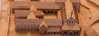 Holzmodell der Maulbronner Klosteranlage