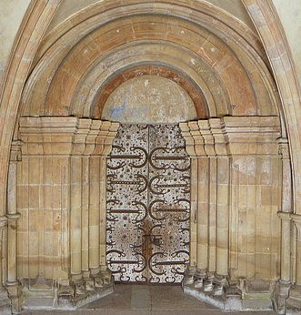Maulbronn Monastery, main church portal
