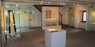 Image: Exhibit in the Frühmesserhaus (house for the monk conducting early mass), Maulbronn Monastery