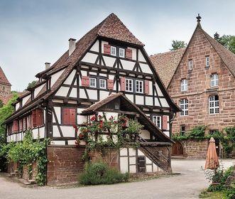 Kloster Maulbronn, das Haus des Pfisterers und die Bäckerei; Foto: Staatliche Schlösser und Gärten Baden-Württemberg, Günther Bayerl
