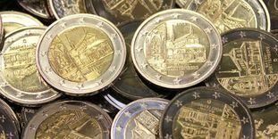 Auf einem Haufe: Die Maulbronner 2-Euro-Münzen
