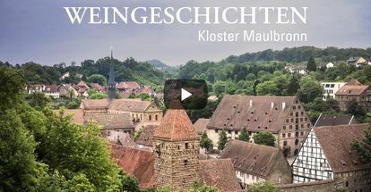 """Startbildschirm des Filmes """"Weingeschichten Kloster Maulbronn"""""""