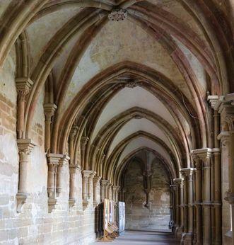 Galerie sud du cloître du monastère de Maulbronn