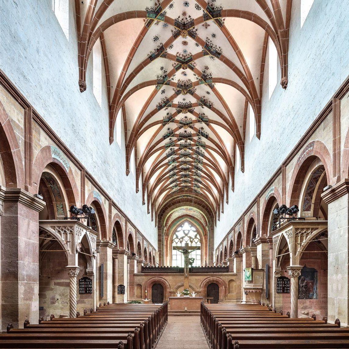 Kloster Maulbronn, Blick ins Langhaus der Laienkirche; Foto: Staatliche Schlösser und Gärten Baden-Württemberg, Günther Bayerl